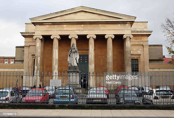A general view of Worcester Crown Court taken on October 30 2006 in Worcester England Jan Ometak from Princess Avenue Hereford is accused of biting...