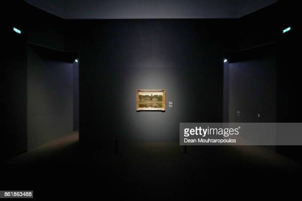 A general view of works by Matthijs Maris during a special exhibition held at the Rijksmuseum Exhibition on October 13 2017 in Amsterdam Netherlands...