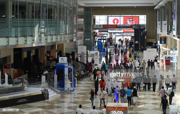 General view of World Trade Centre during the Gitex Shopper on April 1 2017 in Dubai United Arab Emirates