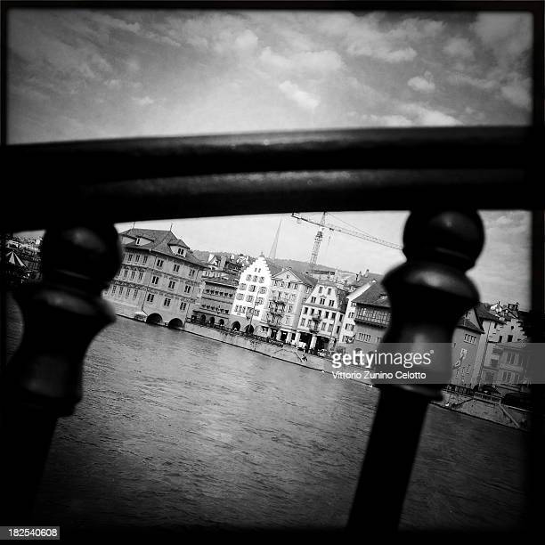 A general view of Zurich on September 28 2013 in Zurich Switzerland Zurich is the capital of the canton of Zurich and is the largest city in...