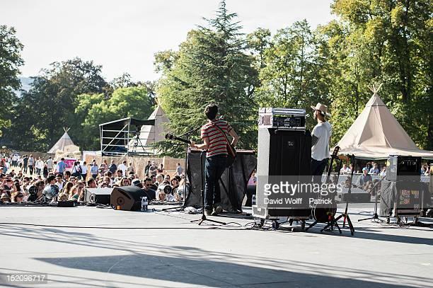 General view ofWe Love Green Festival at Parc de Bagatelle on September 16 2012 in Paris France