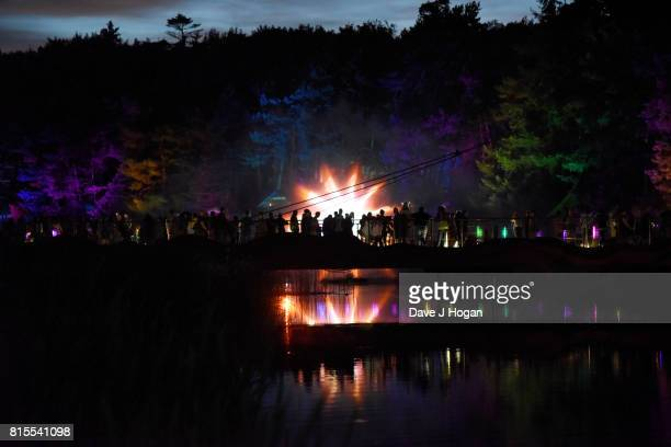 General view on Day 3 of Latitude Festival at Henham Park Estate on July 15 2017 in Southwold England