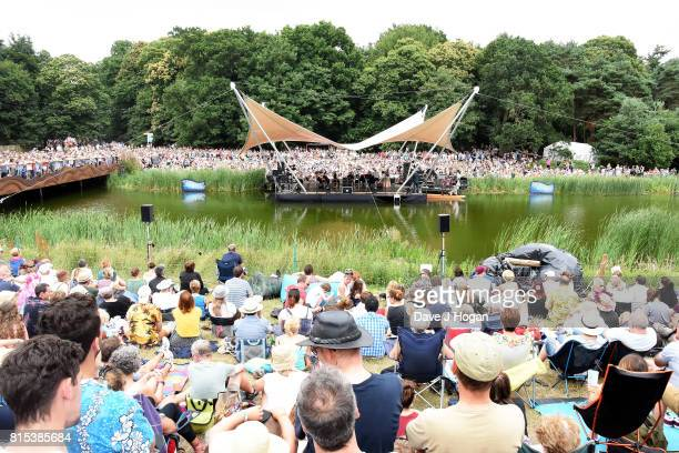 General view on Day 4 of Latitude Festival at Henham Park Estate on July 16 2017 in Southwold England