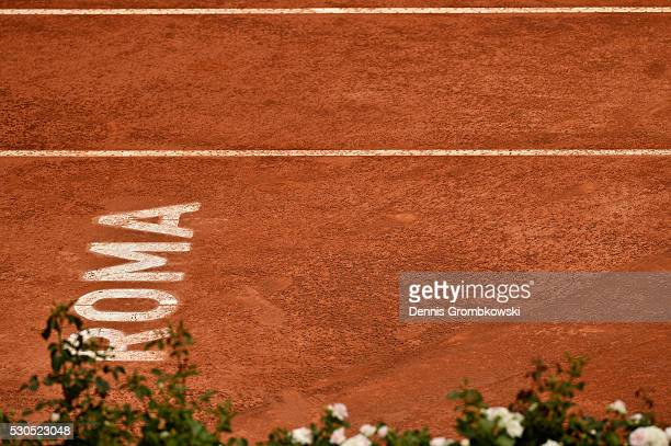A general view on Day Four of The Internazionali BNL d'Italia on May 11 2016 in Rome Italy