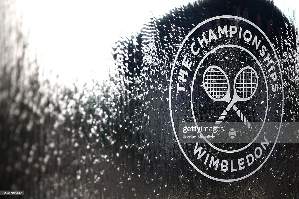 A general view on day four of the Wimbledon Lawn Tennis Championships at the All England Lawn Tennis and Croquet Club on June 30, 2016 in London, England.