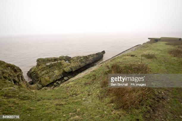 A general view on Flat Holm island in the Bristol Channel Flat Holm is a limestone island in the Bristol Channel approximately 6 km from Lavernock...