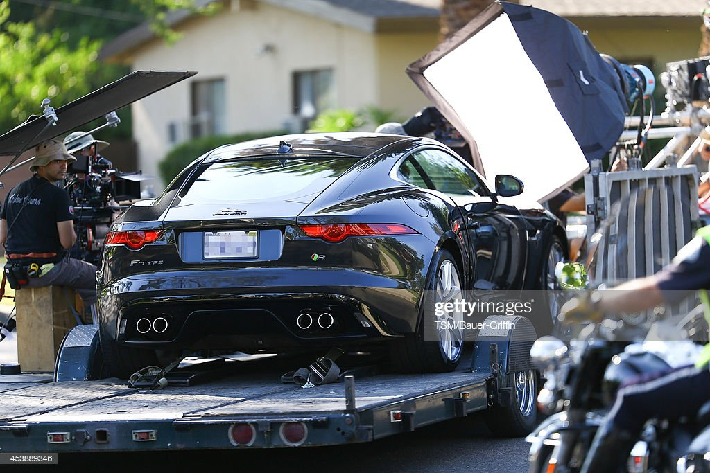 A general view on the set of 'We Are Your Friends' on August 20, 2014 in Los Angeles, California.