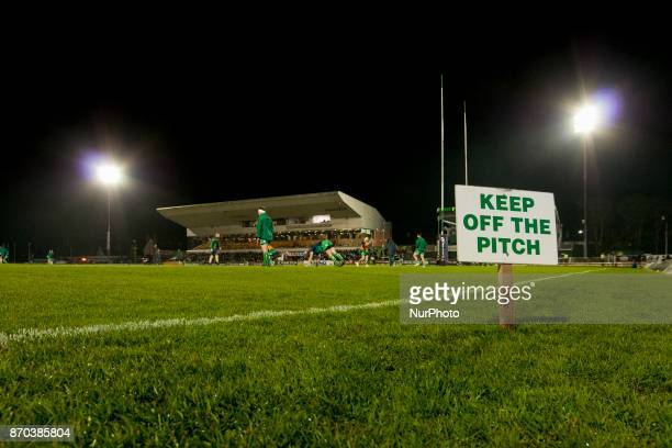 General view on the Sportsground during the Guinness PRO14 Round 8 rugby match between Connacht Rugby and Toyota Cheetahs at the Sportsground in...