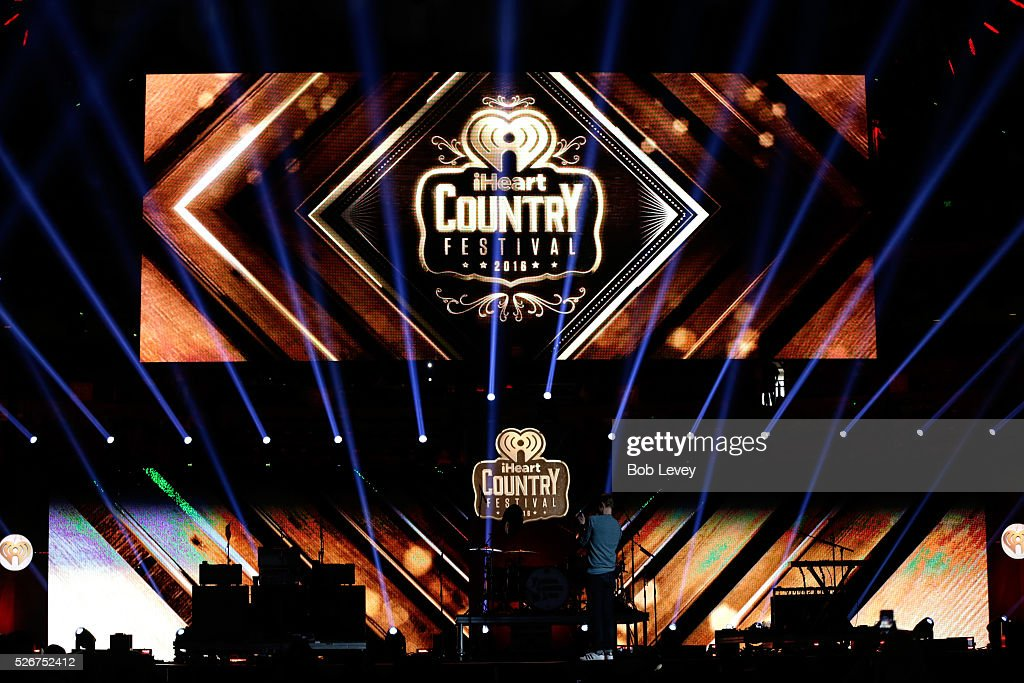General view onstage during the 2016 iHeartCountry Festival at The Frank Erwin Center on April 30, 2016 in Austin, Texas.