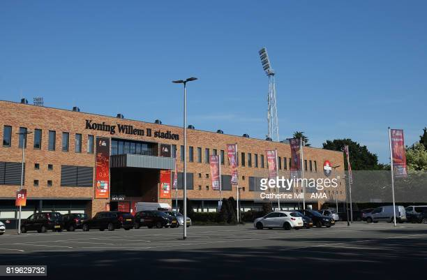 General view outside before the UEFA Women's Euro 2017 match between France and Iceland at Koning Willem II Stadium on July 18 2017 in Tilburg...