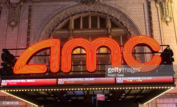 General view outside the AMC Empire 25 theater on March 15 2016 in New York City