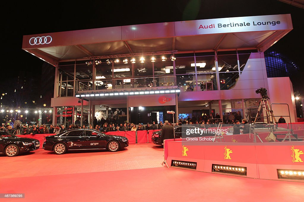 A general view outside the Berlinale Opening Night Of Gala & Ufa Fiction during the 64th Berlinale International Film Festival at Hotel Das Stue on February 6, 2014 in Berlin, Germany.