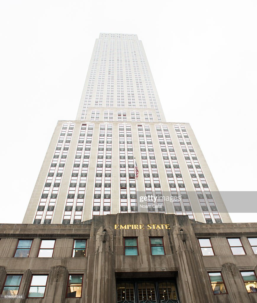General view outside the Empire State Building on May 06, 2016 in New York, New York.