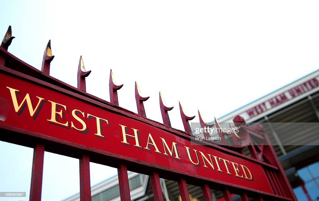 A general view outside the ground prior to the Barclays Premier League match between West Ham United and Arsenal at Boleyn Ground on December 26, 2013 in London, England.