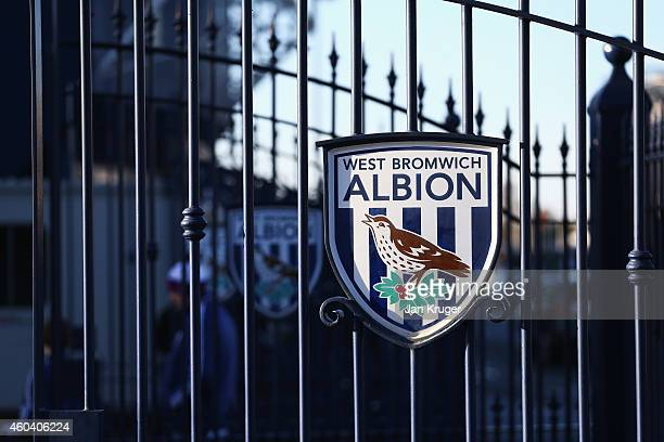 A general view outside the ground prior to the Barclays Premier League match between West Bromwich Albion and Aston Villa at The Hawthorns on...