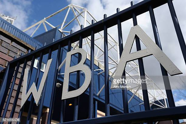 A general view outside the ground prior to the Barclays Premier League match between West Bromwich Albion and Watford at The Hawthorns on April 16...