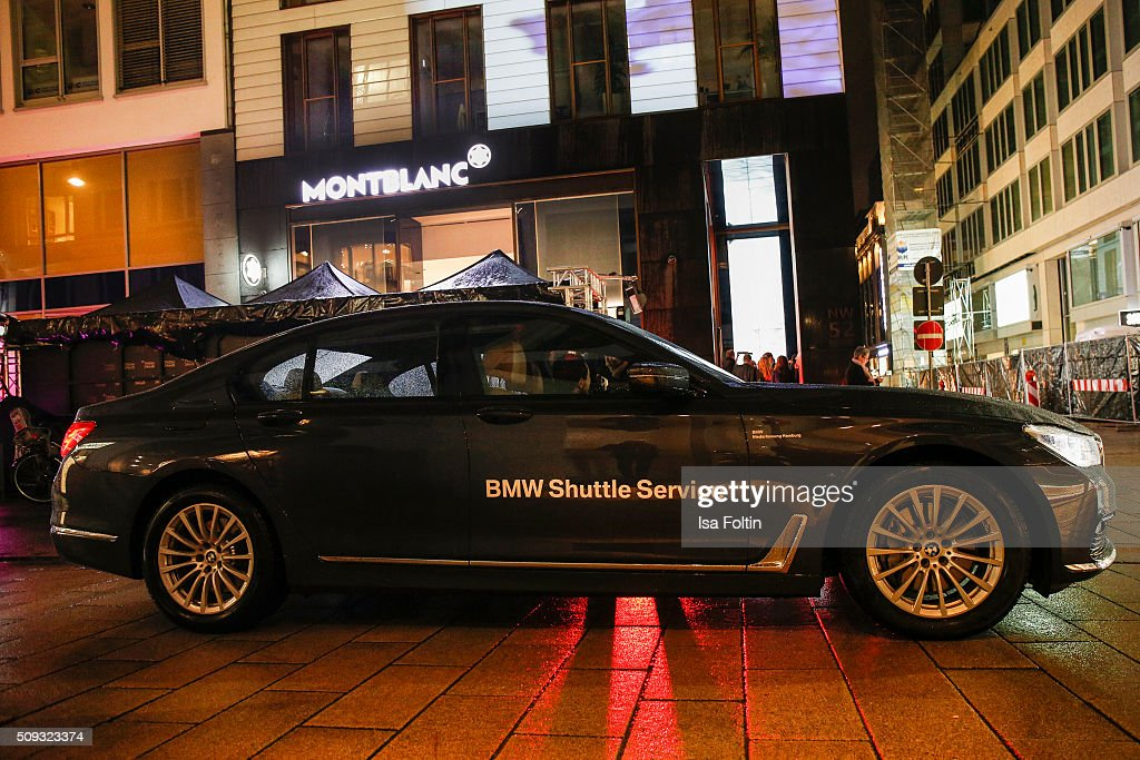 Outside view about the Montblanc House Opening on February 09, 2016 in Hamburg, Germany.