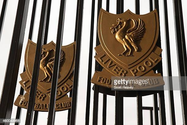 A general view outside the stadium before the Barclays Premier League match between Liverpool and Sunderland at Anfield on December 6 2014 in...
