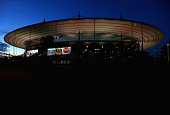A general view outside the stadium before the FIFA 2014 World Cup Qualifying Group I match between France and Finland at the Stade de France on...