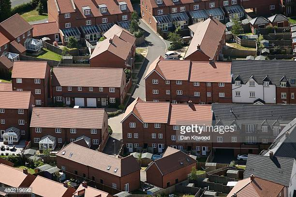 A general view over houses in Greater London on July 10 2015 in London England The Chancellor of the Exchequer George Osborne unveiled a new policy...