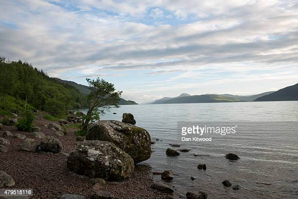 A general view over Loch Ness on June 26 2015 in the Highlands Scotland A major six month long study is currently taking place the 'National Golden...