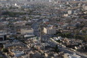 A general view over the city of Erbil on June 15 2014 in Erbil Iraq In Iraq's capital city of Baghdad and other towns and cities effected by the...