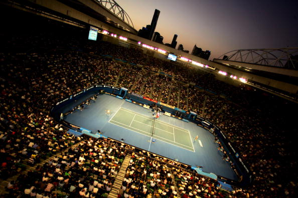 Olympic park stadium stock photos and pictures getty images for Door 9 rod laver arena