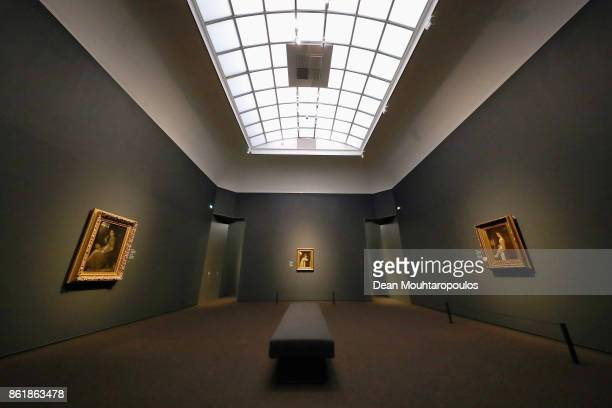 A general view paintings by Matthijs Maris during a special exhibition held at the Rijksmuseum Exhibition on October 13 2017 in Amsterdam Netherlands...