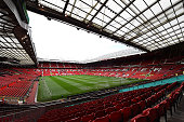 General View prior to the Barclays Premier League match between Manchester United and Chelsea at Old Trafford on October 26 2014 in Manchester England