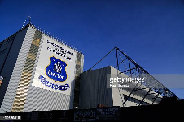 General View prior to the Barclays Premier League match between Everton and Southampton at Goodison Park on December 29 2013 in Liverpool England