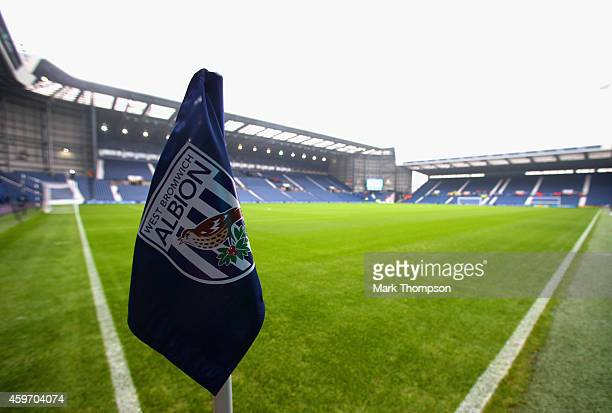 A general view prior to the Barclays Premier League match between West Bromwich Albion and Arsenal at The Hawthorns on November 29 2014 in West...