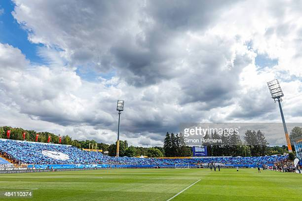A general view prior to the Bundesliga match between SV Darmstadt 98 and Hannover 96 at MerckStadion am Boellenfalltor on August 15 2015 in Darmstadt...