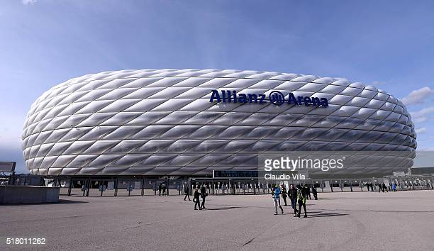 General view prior to the international friendly match between Germany and Italy at Allianz Arena on March 29 2016 in Munich Germany