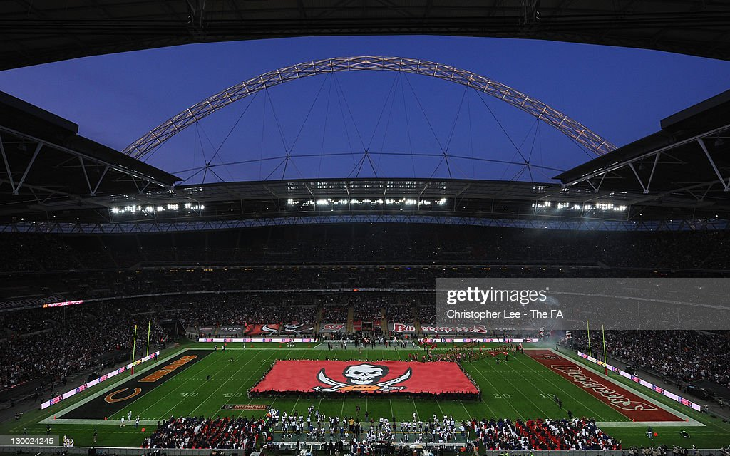 A general view prior to the NFL International Series match between Chicago Bears and Tampa Bay Buccaneers at Wembley Stadium on October 23, 2011 in London, England. This is the fifth occasion where a regular season NFL match has been played in London.