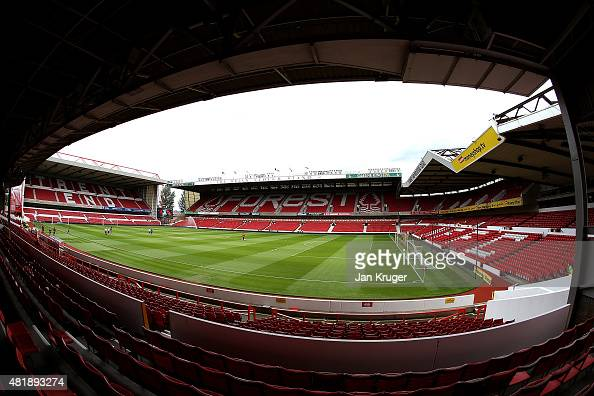 General view prior to the pre season friendly match between Nottingham Forest and Swansea City at City Ground on July 25 2015 in Nottingham England