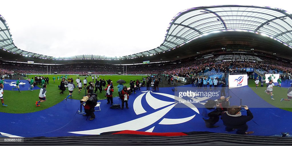A general view prior to the RBS Six Nations match between France and Ireland at the Stade de France on February 13, 2016 in Paris, France.