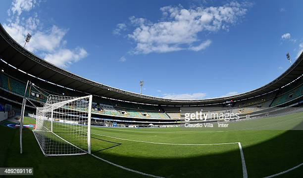 A general view prior to the Serie A match between AC Chievo Verona and FC Internazionale Milano at Stadio Marc'Antonio Bentegodi on September 20 2015...