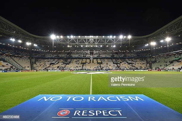 A general view prior to the UEFA Champions League group A match between Juventus and Club Atletico de Madrid at Juventus Arena on December 9 2014 in...