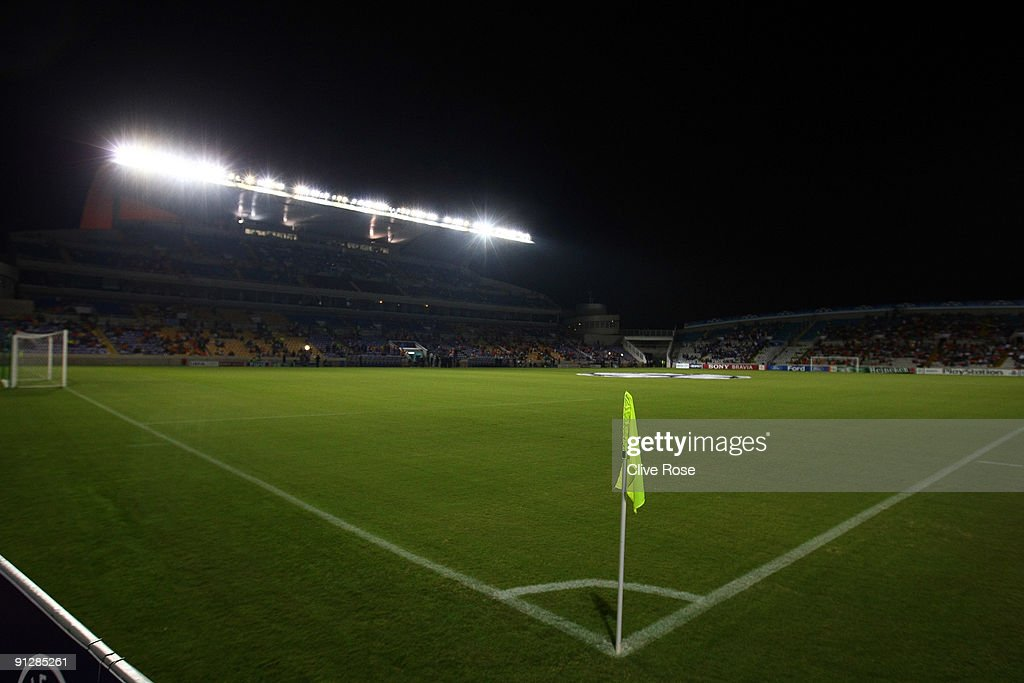 A general view prior to the UEFA Champions League Group D match between Apoel Nicosia and Chelsea at the GSP Stadium on September 30 2009 in Nicosia...