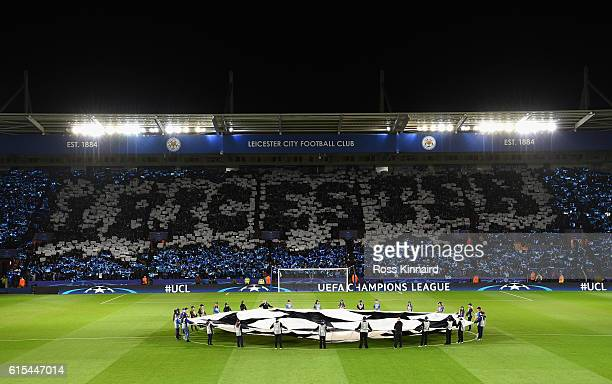 A general view prior to the UEFA Champions League Group G match between Leicester City FC and FC Copenhagen at The King Power Stadium on October 18...