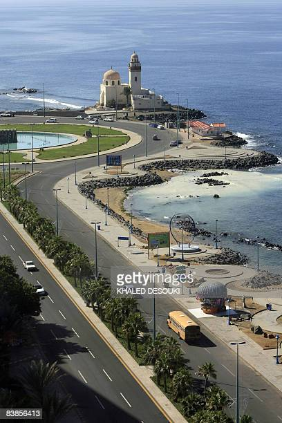 A general view shows alTawhid square on the corniche in the Red Sea port city of Jeddah on November 29 2008 AFP PHOTO/KHALED DESOUKI