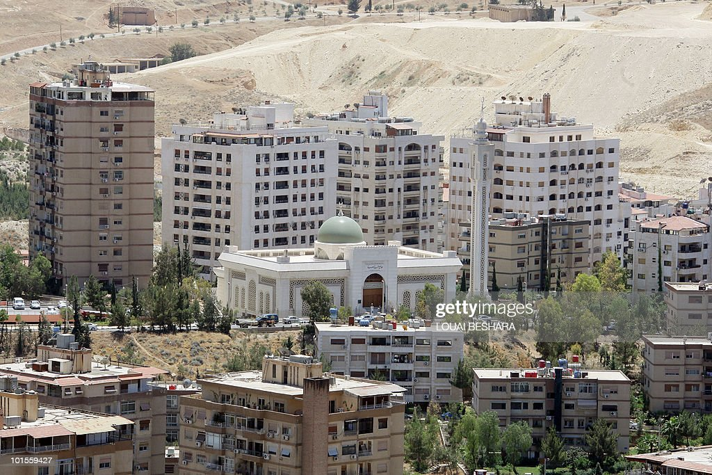 MABARDI A general view shows new buildings in Damascus on May 20, 2010. The price of property has sky-rocketed in Syria, where an apartment can be sold for three million USD, an inaccessbile dream for most Syrians.