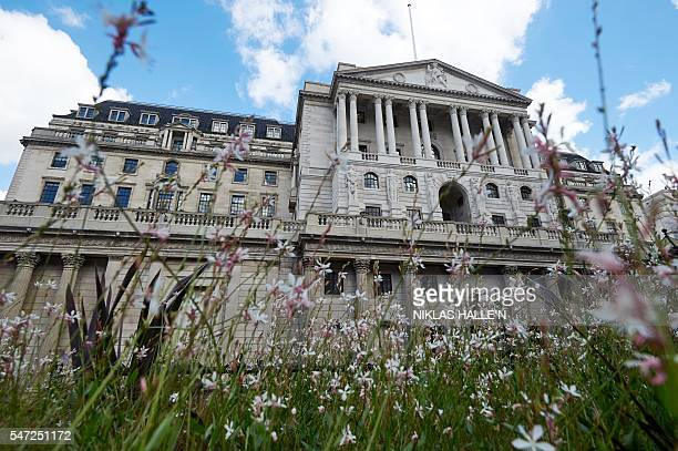 A general view shows the Bank of England in the City of London The Bank of England kept Thursday its interest rate at 050 percent but signalled a...