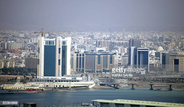 A general view shows the beach front center of the Saudi Red Sea port city of Jeddah 24 January 2005 AFP PHOTO/KARIM SAHIB