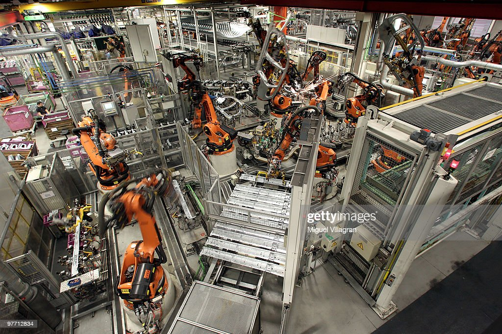General view shows the BMW 3-series production line at the BMW factory on March 15, 2010 in Munich, Germany. The German car maker will present the company's business report for 2009 on Wednesday.