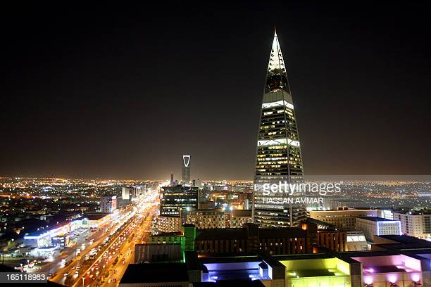 A general view shows the busy Saudi capital Riyadh late 03 October 2007 AFP PHOTO/HASSAN AMMAR