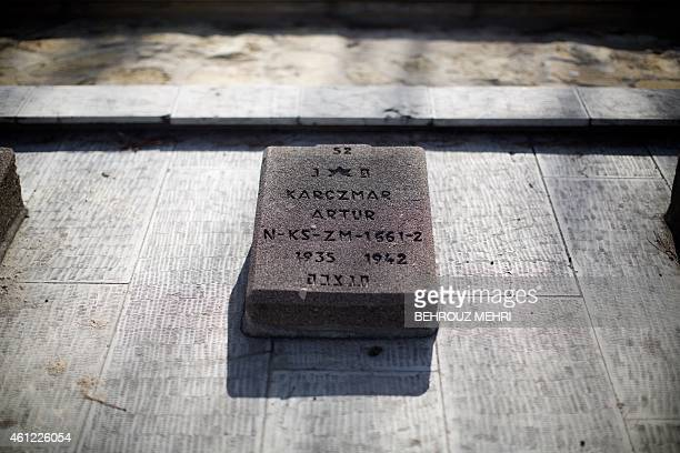 A general view shows the grave of a sevenyearold Polish Jew who died in Iran during World War II at Beheshtieh cemetery in southern Tehran on January...