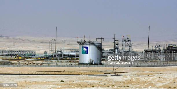 A general view shows the Saudi Aramco oil facility in Dammam city 450 kms east of the Saudi capital Riyadh 23 November 2007 Skyrocketing oil prices...