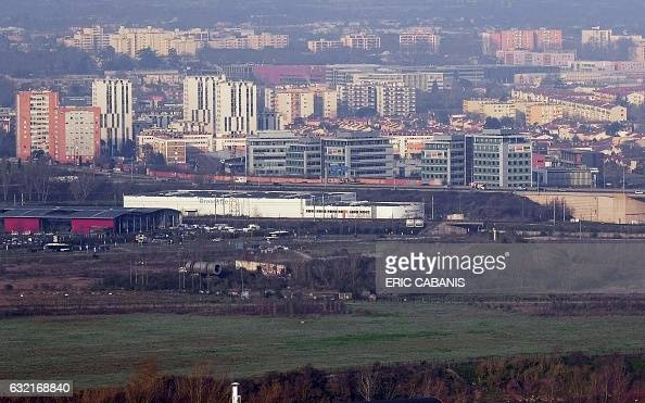 A general view shows the site of the former chemical factory AZF in Toulouse southern France on January 20 2017 Who is responsible for the disaster...