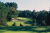 General view taken during a Pine Valley Golf Club photo shoot held in October 1996 at the Pine Valley Golf Club in New Jersey USA